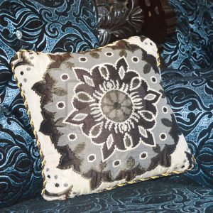 Pack of 5 Home Decor Cushions With Inset, Sofa Cushions, Sitting Cushions