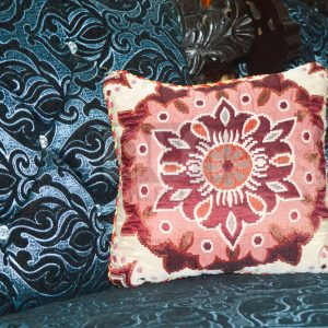 Pack of 5 Home Decor Cushions With Inset