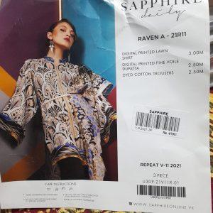 Sapphire 3pcs sale by duacollection